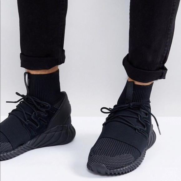 best loved 75254 fd03a Adidas Tubular Doom PK Triple Black 2.0